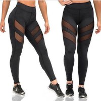 SA093 - Openwork Fitness Yoga Pants