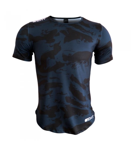 SA095 - Muscle fitness short-sleeved Tshirt