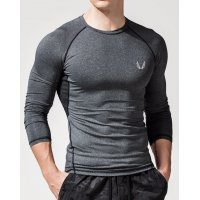 SA214 - Muscle brothers men's quick-drying tights fitness bodybuilding T-shirt