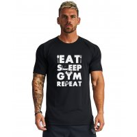 SA234 - Eat Sleep Gym Tshirt