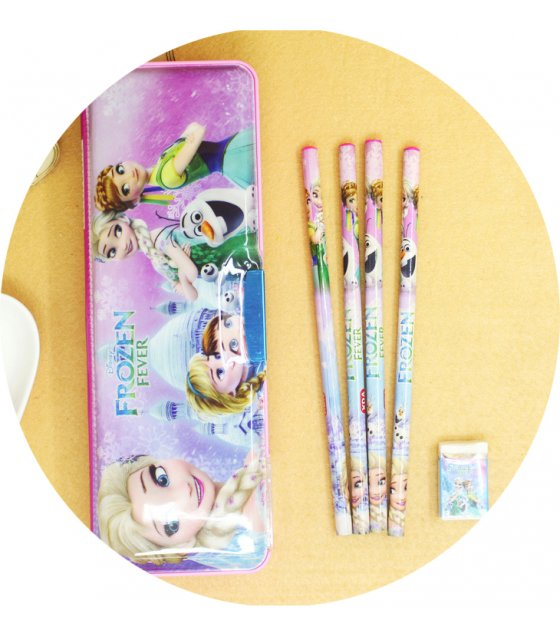 ST006 - Cute Stationery Cartoon Pencil Box