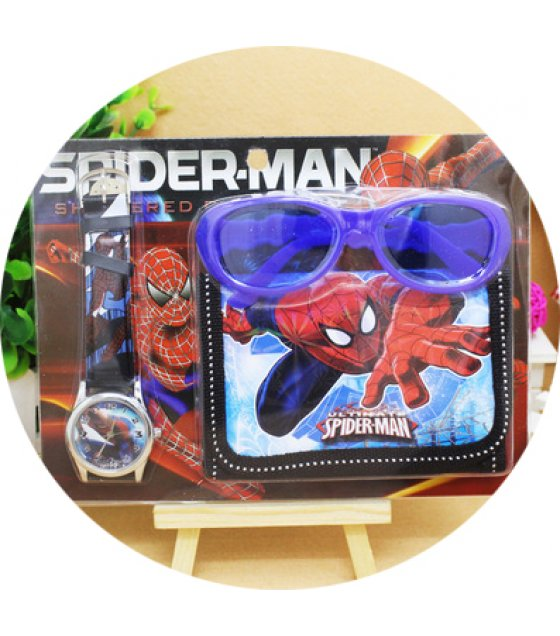 ST008 - Frozen Watch Wallet Glasses Set