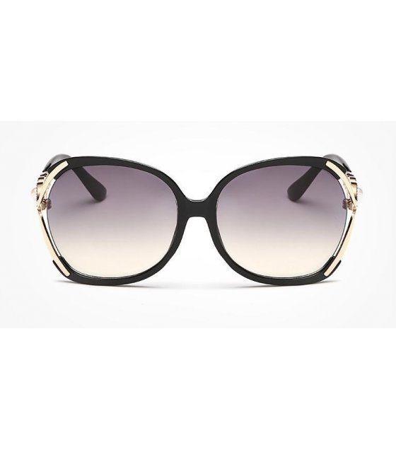 SG116 - American fashion sunglasses Bright Black