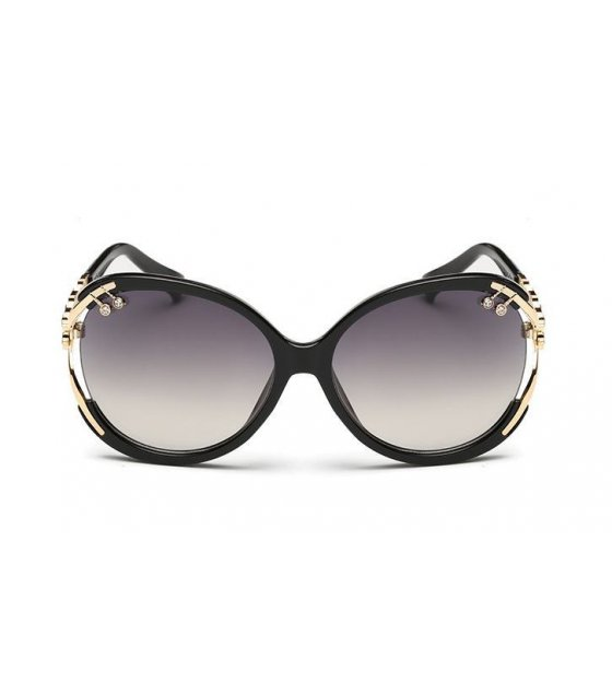 SG120 - Bright Black Rimmed Shades