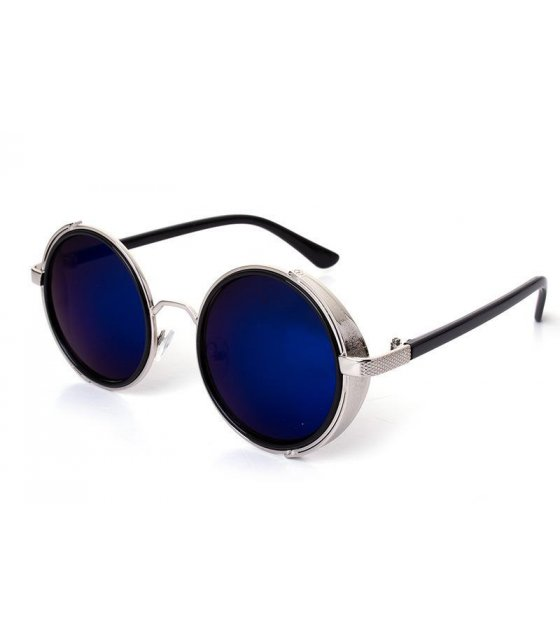 SG129 -Round glasses steam punk sunglasses