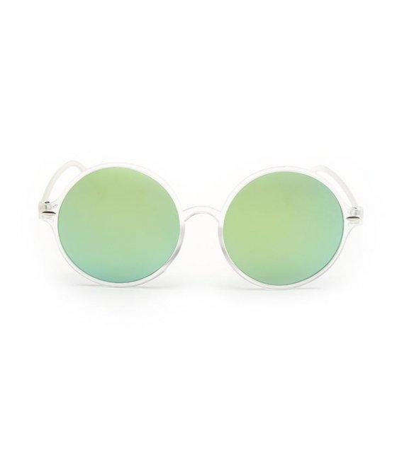 SG167 - Transparent gold mercury Sunglasses