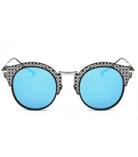 SG185 - Ice Blue black box Sunglasses