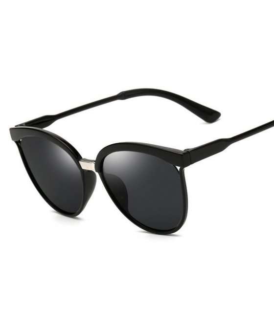 SG207- All Black Trendy Sunglasses