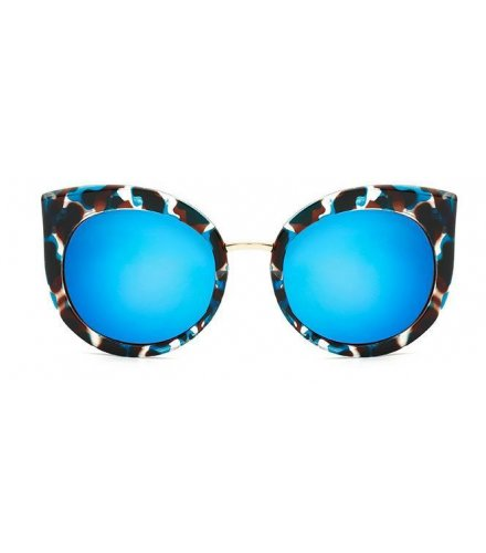 SG210 - Stylish Blue Printed Sunglasses