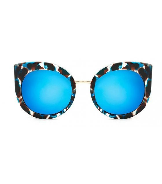 SG210 - Stylish Blue Printed Sunglasses