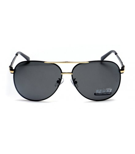 SG222 - Gold Framed Benz Sunglasses