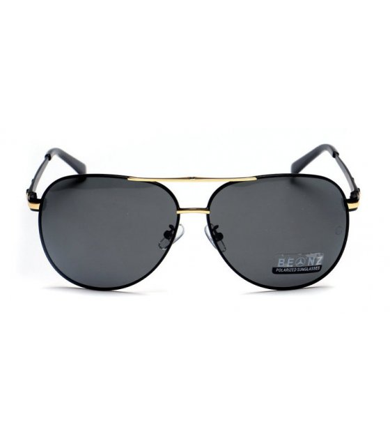 SG222 - Gold Framed Benz Sunglasses