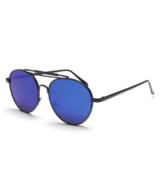 SG291 - New classic metal toad frame sunglasses