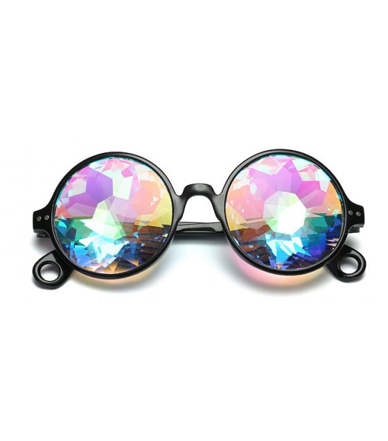 SG301 - Kaleidoscopic psychedelic sunglasses Mosaic glasses