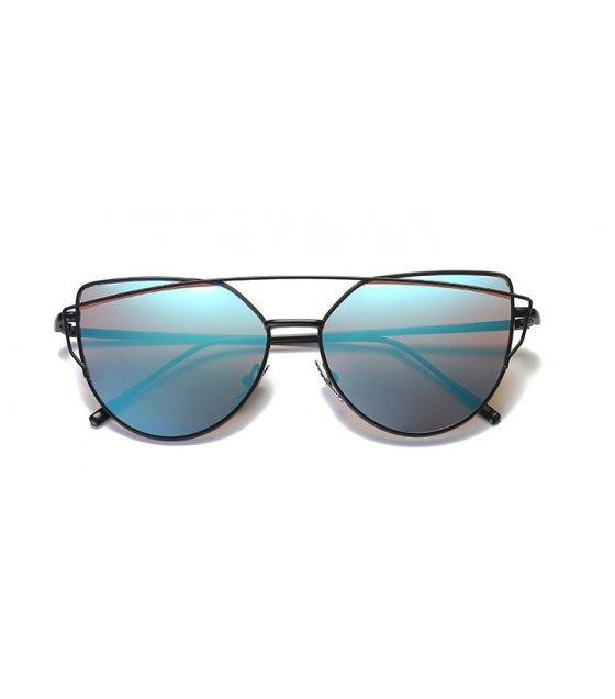 SG361 - Metal color film sunglasses