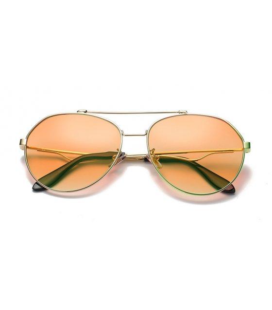 SG372 - Large frame frog mirror Sunglasses