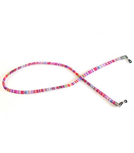 SG501 - Round color cotton sunglasses rope