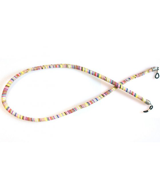 SG503 - Round color cotton sunglasses rope