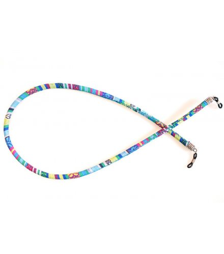 SG504 - Round color cotton sunglasses rope