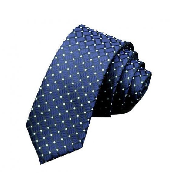 T013 - Blue Dotted Tie