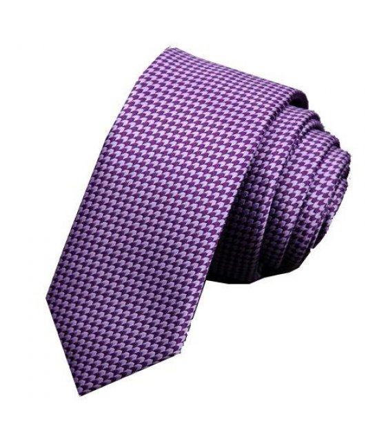 T020 - Purple Dotted Tie