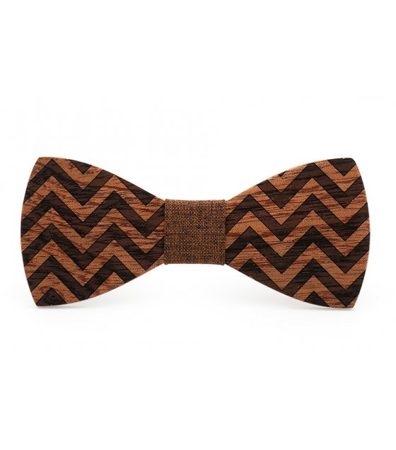 T051 - Wooden bow tie