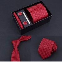 T074 - Men's five-piece tie Set