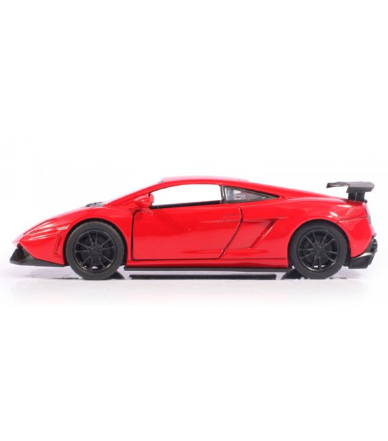 TY002 - Alloy Pull Back Lamborghini  Model Car