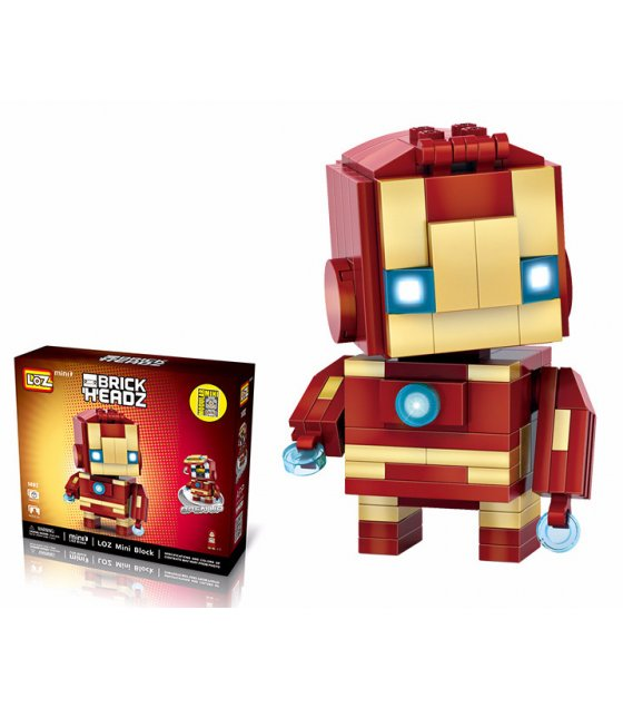 TY051 - Brickheadz Iron Man