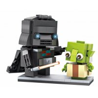 TY053 - Brickheadz Darth Vader and Yoda