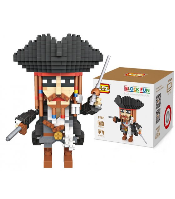 TY055 - LOZ Captain Jack Sparrow