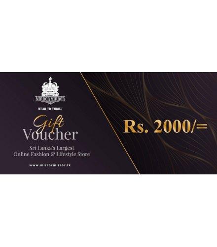 Gift Voucher - 2000Rs