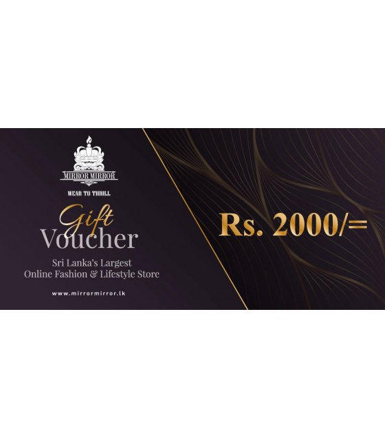 Gift Voucher - 2000Rs