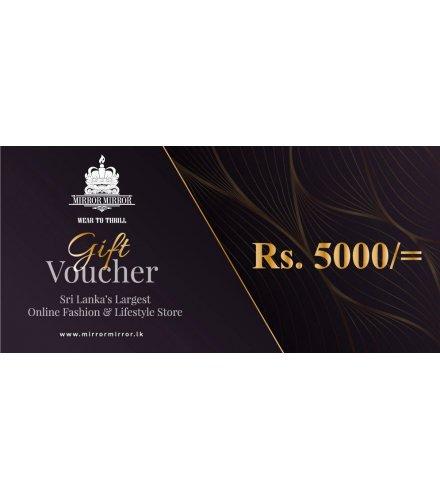 Gift Voucher - 5000Rs