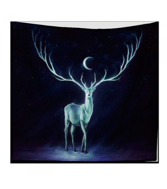 WC004 - Reindeer Wall Cloth Tapestry