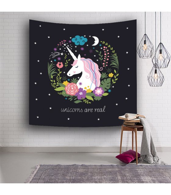 WC007 - Unicorn Wall Tapestry