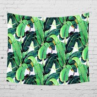 WC008 - Tropical Theme Wall Cloth Tapestry
