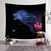 WC009 - Animal Print Art Wall Tapestry