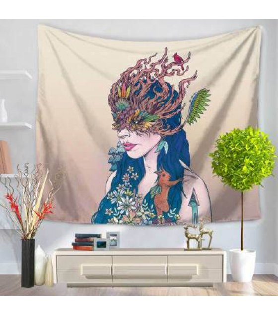 WC016 - Mask Wall Cloth Tapestry