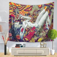 WC017 - Queen Wall Cloth Tapestry