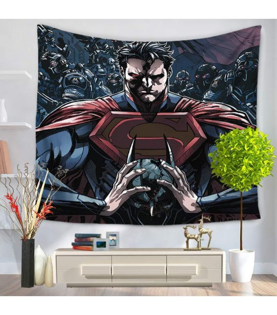WC019 - Superman Wall Cloth Tapestry