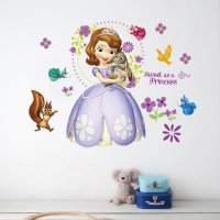 WST076 - Princess Decorative Wall Sticker