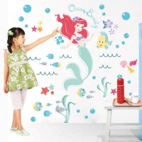 WST079 - Mermaid Wall Sticker