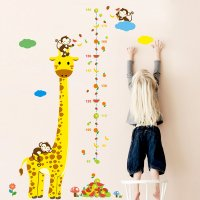 WST080 - Giraffe height stickers
