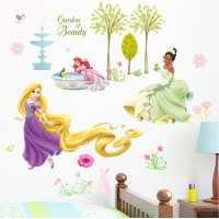 WST090 - Princess wall stickers