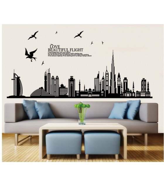 WST014 - Chic And Creative Wall Decor Sticker