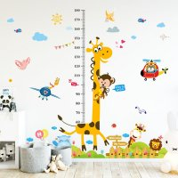 WST024 - Giraffe Height Wall sticker