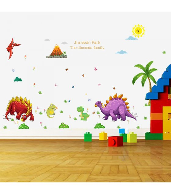 WST028 - Baby Dinosaur Paradise Cartoon Sticker