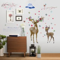 WST040 - Deer Wall Sticker