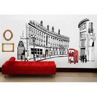 WST052 - British Road Wall Sticker